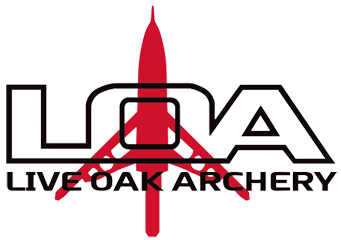 LIVE OAK ARCHERY logo