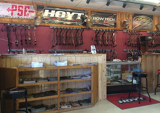 LIVE OAK ARCHERY pro shop